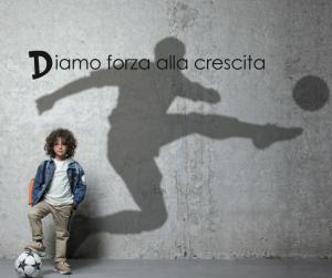 Bambino con sogno da calciatore - D3Base Junior