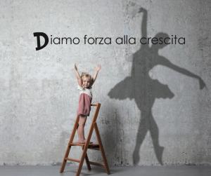 Bambina con sogno da danzatrice - D3Base Junior